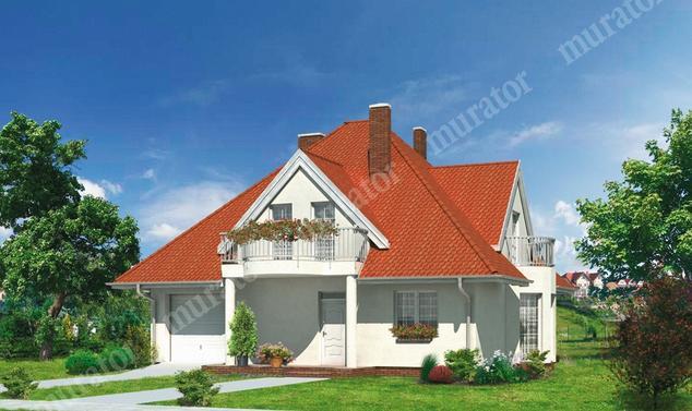 Projekt domu:  Murator D93   – Leśna ostoja